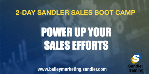 Sandler Two-Day Sales Boot Camp