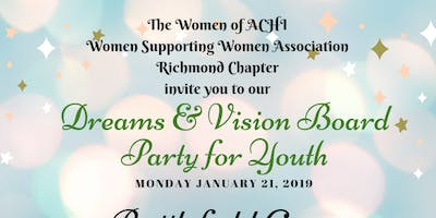 Dreams and Visions: Martin Luther King, Jr.  Vision Board Party for the Youth