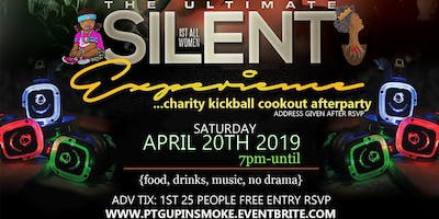 UP IN SMOKE 420 SILENT HEADPHONE PARTY