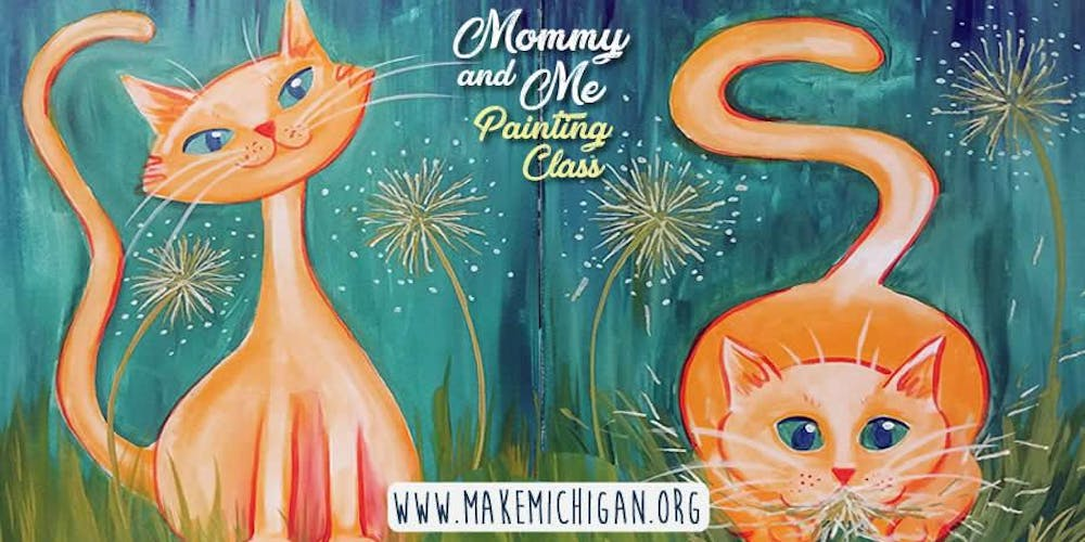 Mommy And Me Painting Class Battle Creek Tickets Sun Mar 17