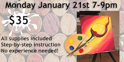 Paint & Sip with ArtWorx Events @ Old Glory