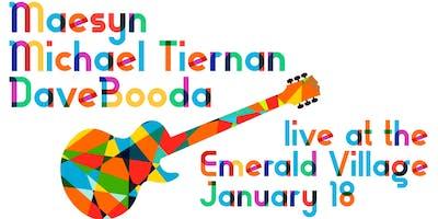 Maesyn, Michael Tiernan & Dave Booda Live at The Emerald Village