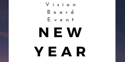 New Year New Me Vision Board Event