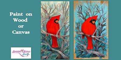 Paint a Cardinal