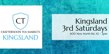 Crafternoon Tea Markets - Kingsland tickets