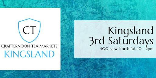 Crafternoon Tea Markets - Kingsland