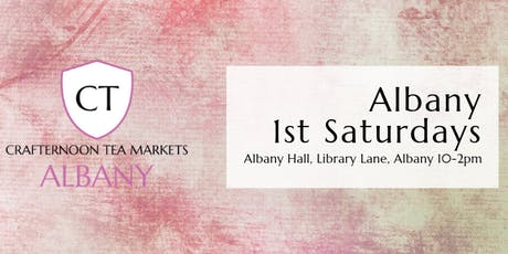 Crafternoon Tea Markets - Albany tickets