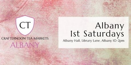 Crafternoon Tea Markets - Albany tickets