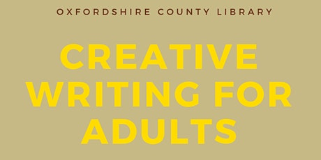 Creative Writing for Adults tickets