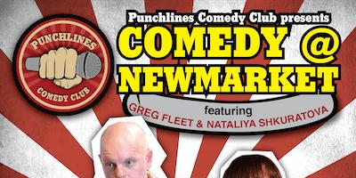 Comedy @ Newmarket Hotel - featuring Greg Fleet & Nataliya Shkuratova