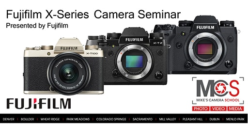 Fujifilm X&G Series Introductory Seminar presented by Fuji - Denver