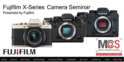 Fujifilm X&G Series Introductory Seminar Presented by Fuji - Dublin