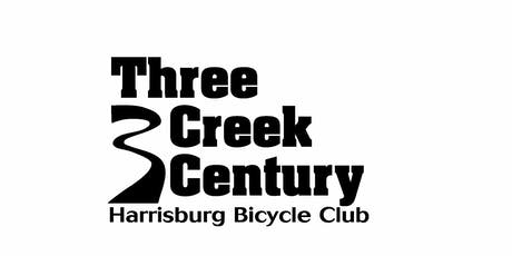 Three Creek Century 2019 tickets