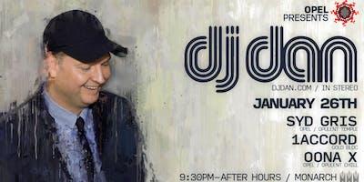 Opel presents DJ Dan at Monarch