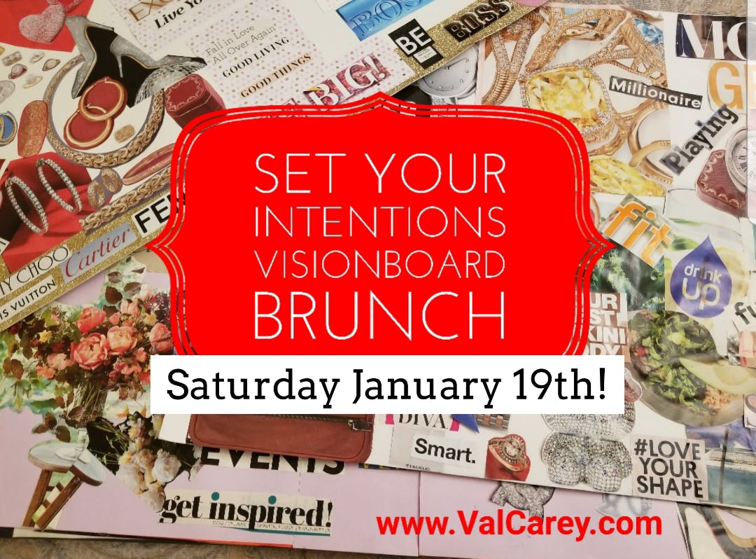 Set Your Intentions VisionBoard Brunch