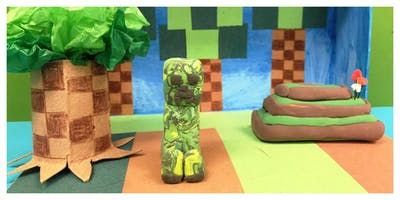 Minecraft & More App Art Summer Camp (5-12 Years)