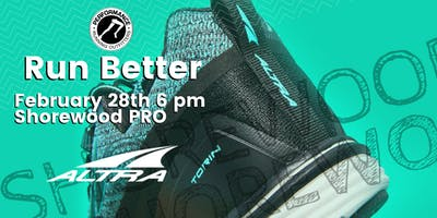 Run Better with Altra - Shorewood PRO