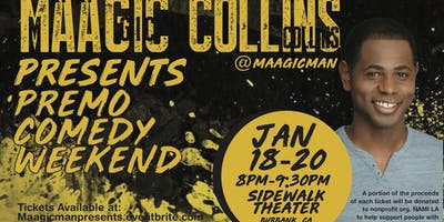 MAAGIC COLLINS PRESENTS PREMO COMEDY WEEKEND