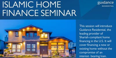 Islamic Home Financing: Joint Event w/ CPA /Realtor/ Inspector