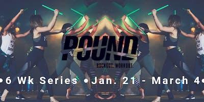 Pound Fitness 6 wk Series Starting Jan. 21st