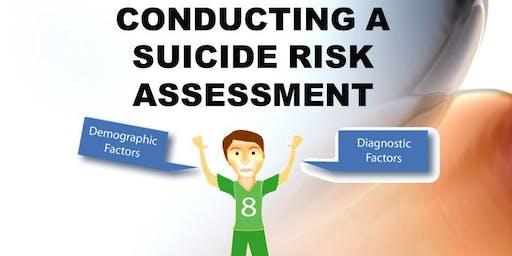 Risky Business: The Art of Assessing Suicide Risk and Imminent Danger - Blenheim