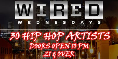30 Hip Hop Artists Battle it out! Wednesday January 16th $10