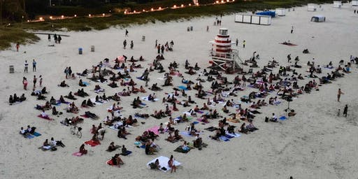 Full Moon Beach Detox Meditation (South Pointe Beach ) FREE