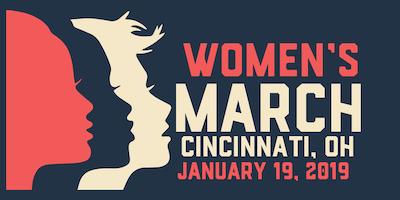 Cincinnati OH Women's March 2019