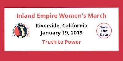 Riverside Women's March 2019