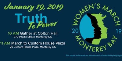 Monterey Bay Women's March 2019