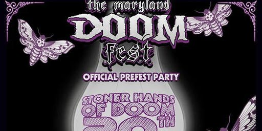 The maryland DOOM Fest 2019 PRE FEST PARTY / SHoD 20th Anniversary