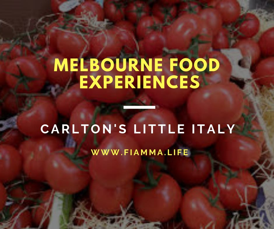 Melbourne Food Experiences - Carlton's Little