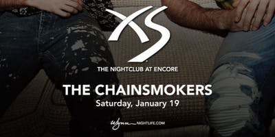 Free Guest List for The Chainsmokers at XS (January 19, 2019)