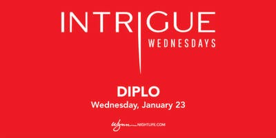 Free Guest List for Diplo at Intrigue (January 23, 2019)
