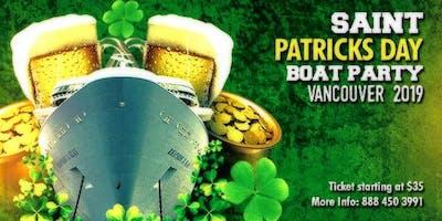 Saint Patricks Day Boat Party Vancouver 2019