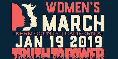 Kern County Women's March 2019