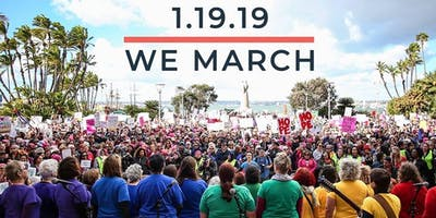 San Diego Women's March 2019