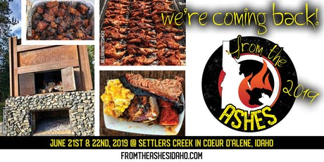 From the Ashes, An American Smoked and Fired Foods Adventure 2019 tickets