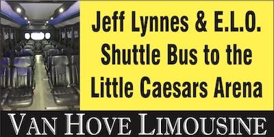 Jeff Lynns ELO Shuttle Bus to LCA from Hamlin Pub 22 Mile & Hayes