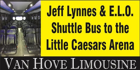 Jeff Lynns ELO Shuttle Bus to LCA from O'Halloran's / Orleans Mt. Clemens tickets