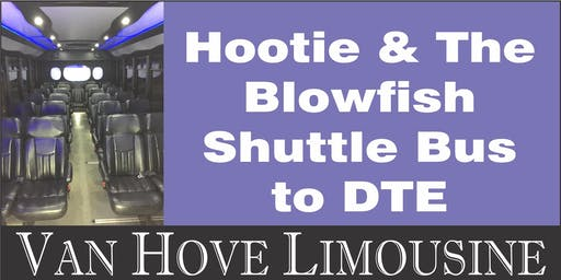 Hootie & the Blowfish Shuttle Bus to DTE from Hamlin Pub 22 Mile & Hayes