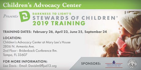 Darkness to Light Stewards of Children 2019 Training tickets