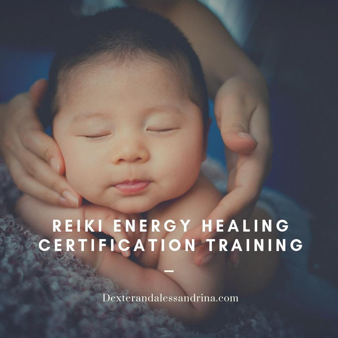 Private Reiki Energy Healing Certification Level 1 and above