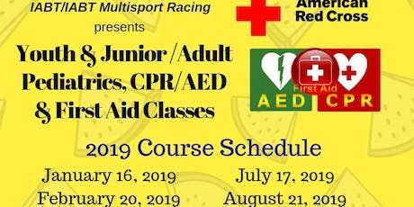 Adult/Youth & Junior Pediatric, CPR/AED & 1st Aid Certification Class tickets