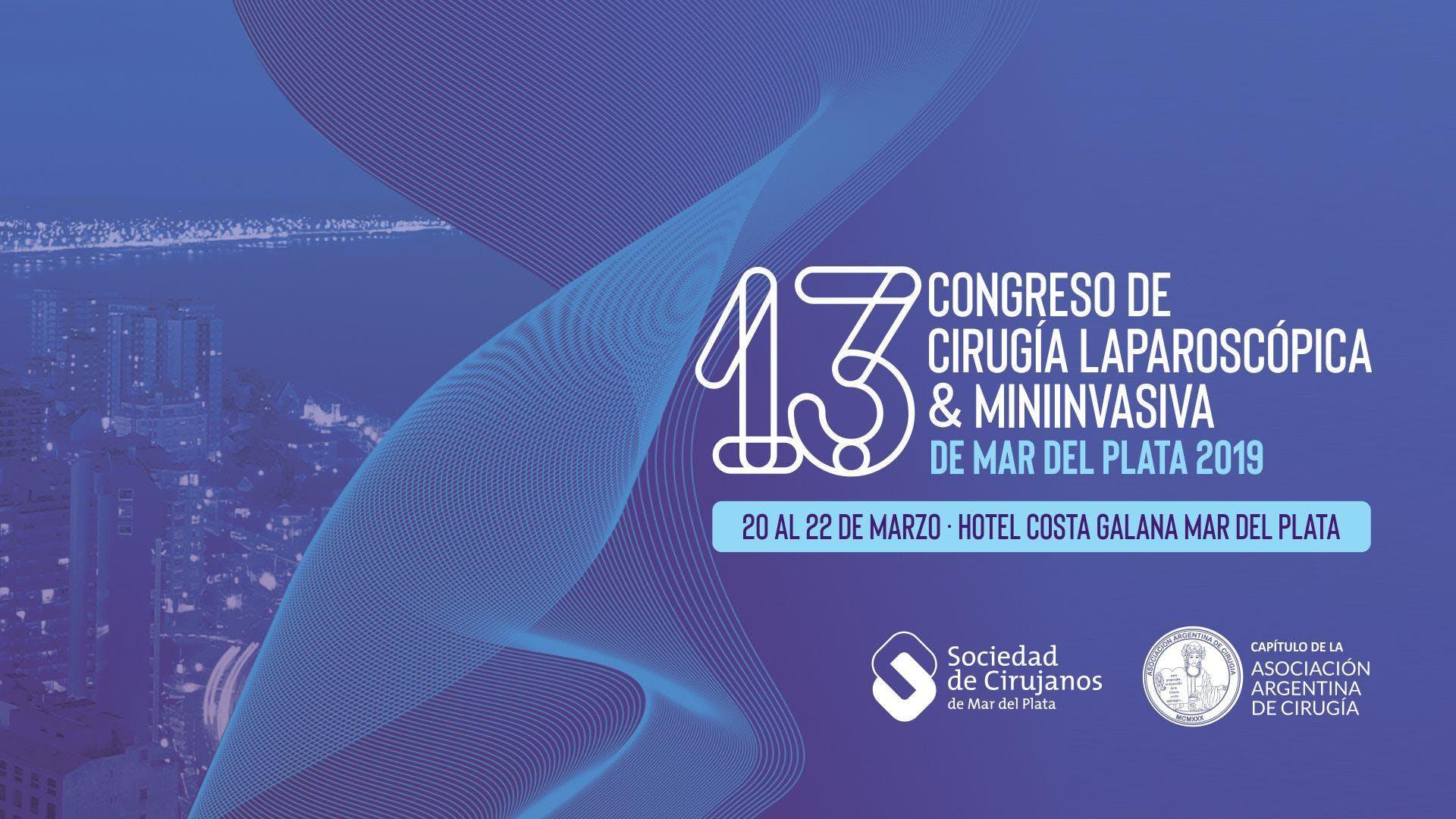 13º Congreso de Cirugía Laparoscópica & Minii
