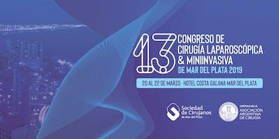 13º Congreso de Cirugía Laparoscópica & Miniinvasiva de Mar del Plata 2019