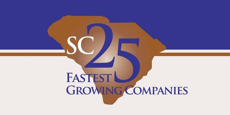 The Official 2019 SC 25 Fastest Growing Companies Awards tickets