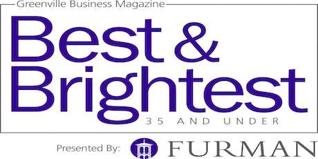 Greenville Business Magazine's 2019 Best and Brightest 35 & Under tickets