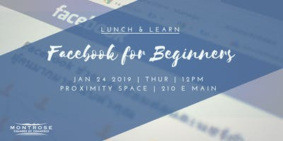 Lunch & Learn: Facebook for Beginners