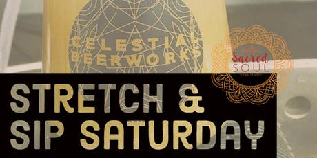 Stretch & Sip Saturday tickets